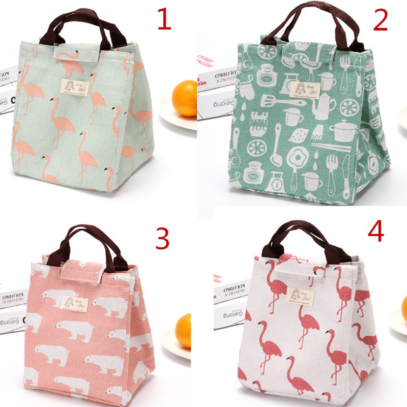 0bceb5fd0a96 Creative lunch bag insulation bag rice bag insulated bag