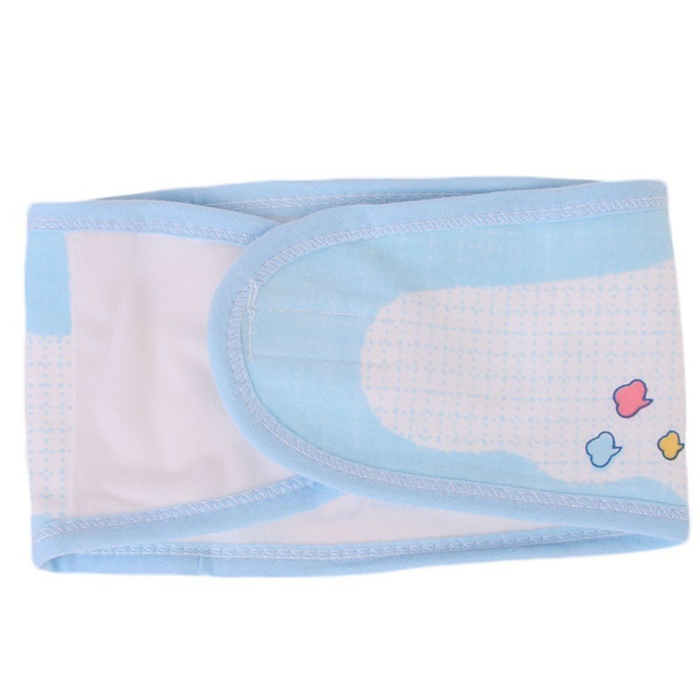 Infant Newborn Soft Umbilical Cord Care Belly Belt Belly Protection Navel Belt