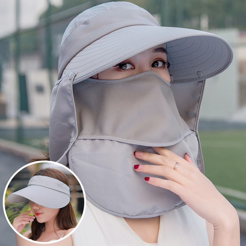 6622687e Outdoor Fishing Hiking Hat and UV Protection Face Neck Flap   Shopee  Philippines