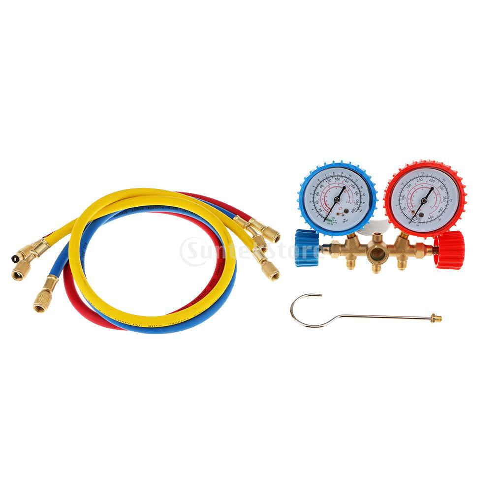 R134-A Air Conditioning Line Repair Tools R12 R22 R502 A//C Manifold Gauge