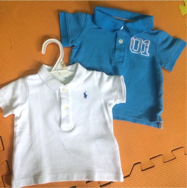 5276ce7f Ralph Lauren + Carter's polo shirts lot of 2