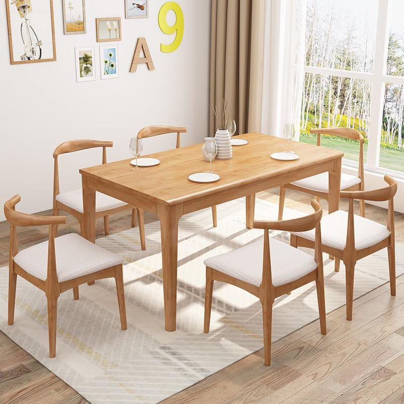 Solid Wood Nordic Table Granite Top Shopee Philippines