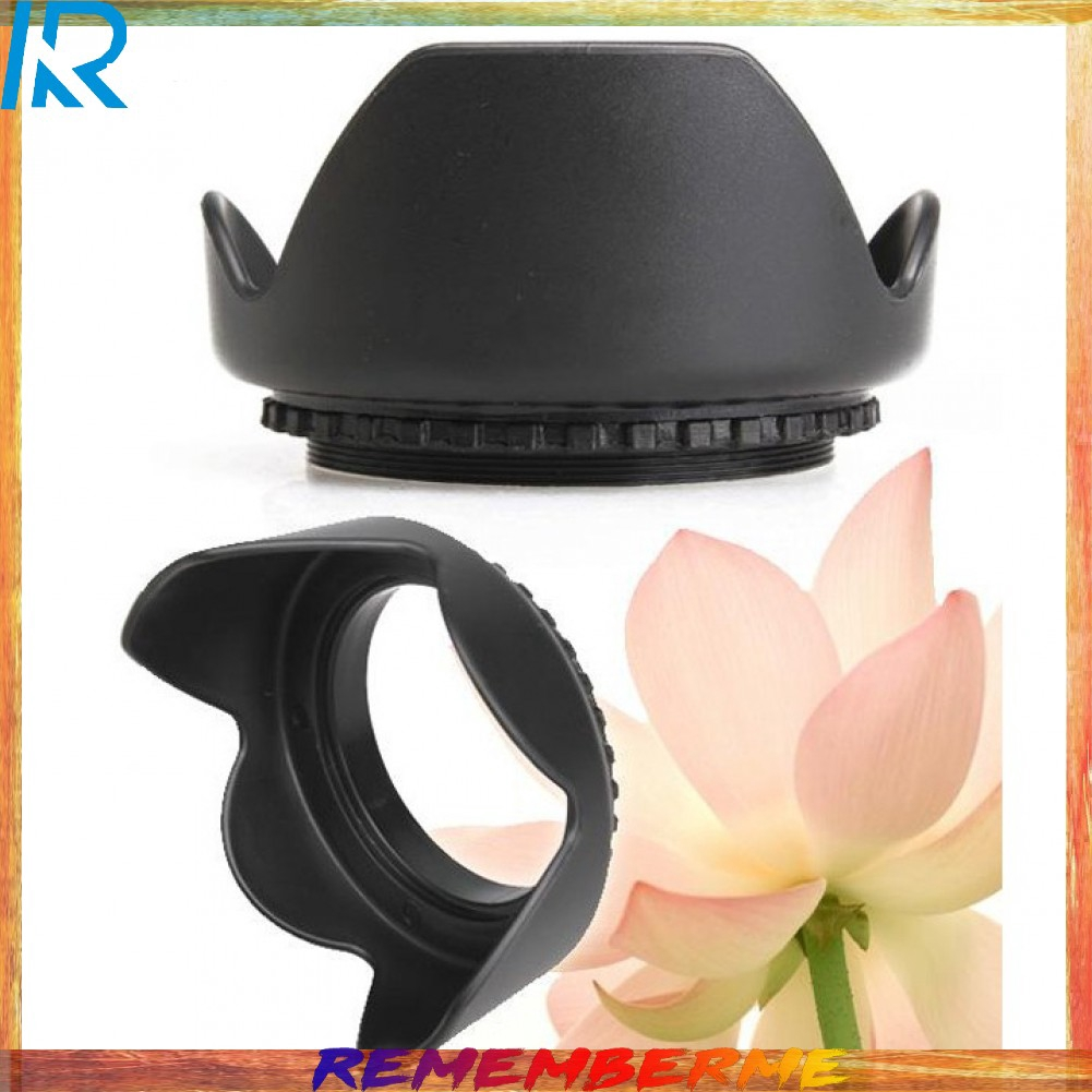 Gadget Place Crown Shaped Tulip Flower//Professional Universal Flower Petal Screw-On Lens Hood for Tamron SP 70-300mm F//4-5.6 Di VC USD