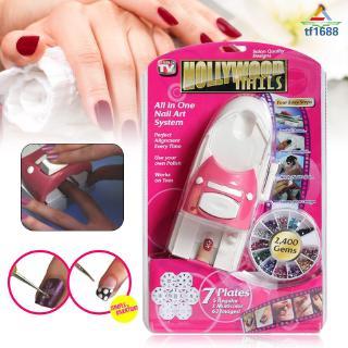 Fs Nail Art Printer Manicure Machine Stamper Tools Set Automatic Printing Nail Art Equipment Shopee Philippines