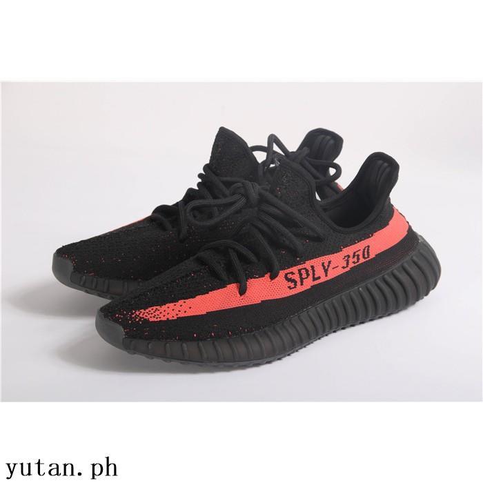 new product c376a cba88 Adidas Yeezy Boost V2 Sply 350 Black Red Orange High Premium