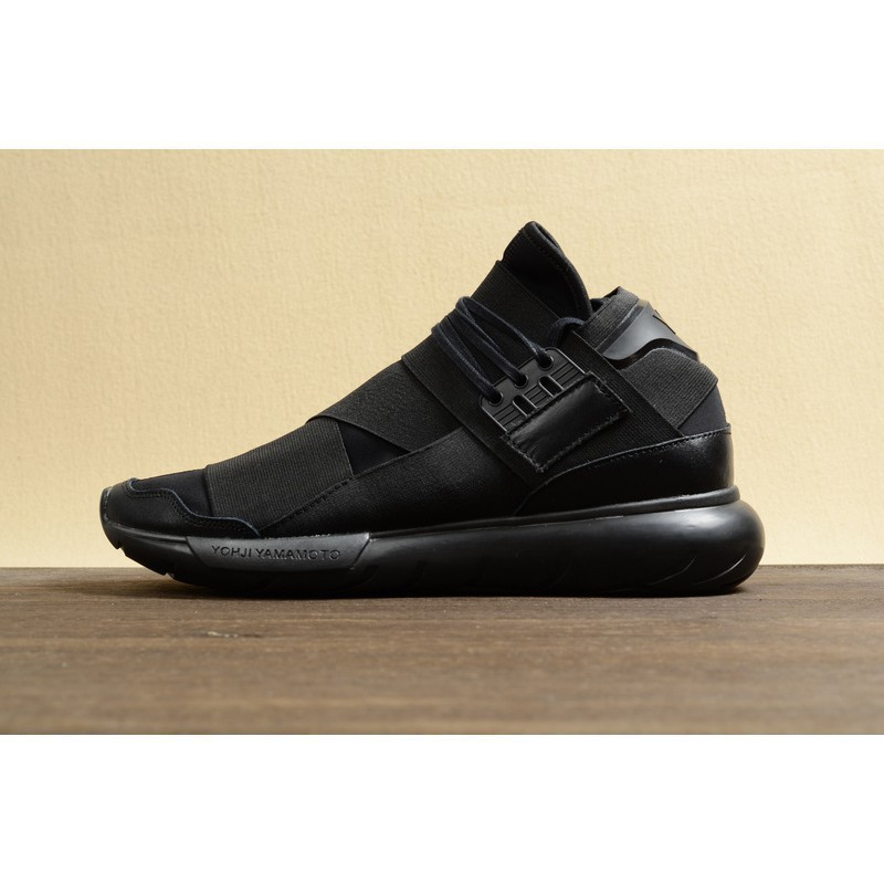 new style a11a3 ef37e Adidas Y3 Qasa High Yohji Yamamoto men women shoes sports black   Shopee  Philippines