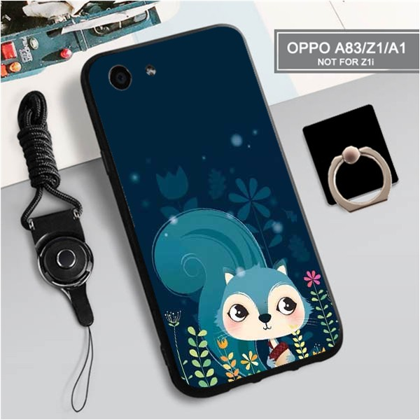 Oppo A83/Z1/A1 Cute Cartoon Animals Silica Gel Soft TPU case
