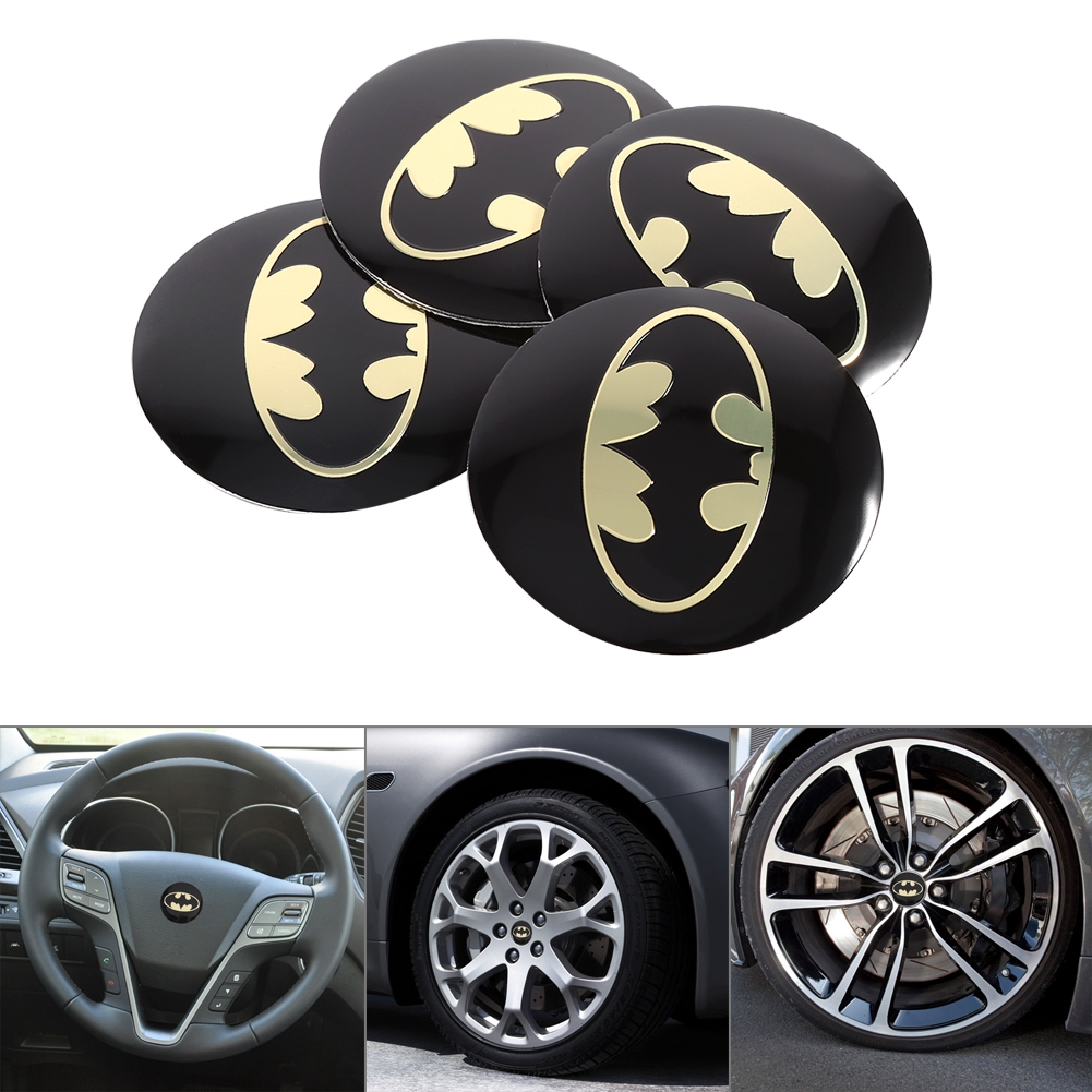 METAL STICKERS WHEELS CENTER CAPS Centro LLantas 4pcs SUZUKI 5