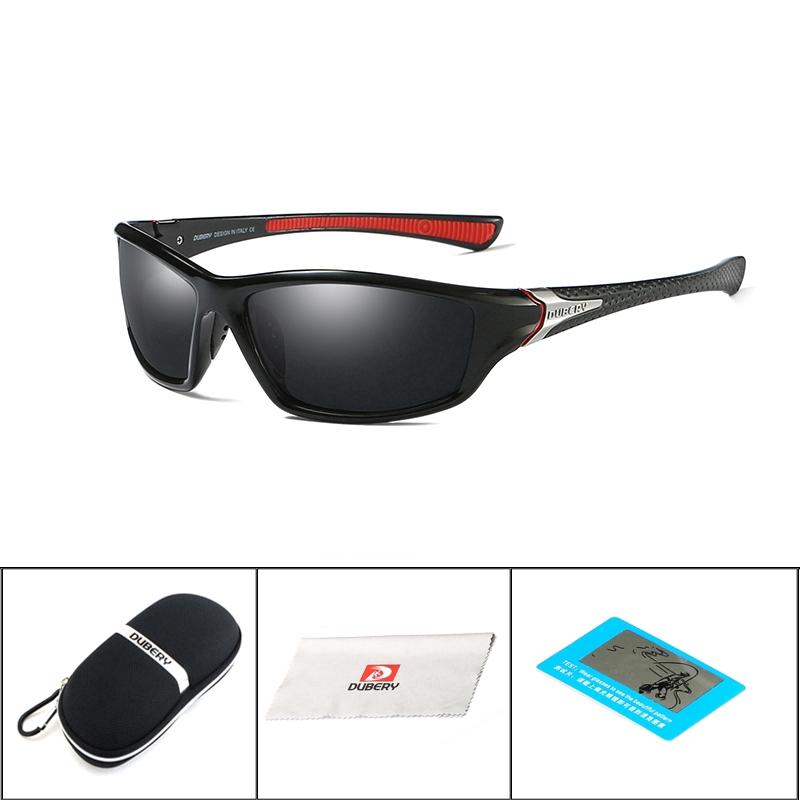 60efcbea60df9 DUBERY Polarized Sunglasses Men s Shades Male Original Brand ...