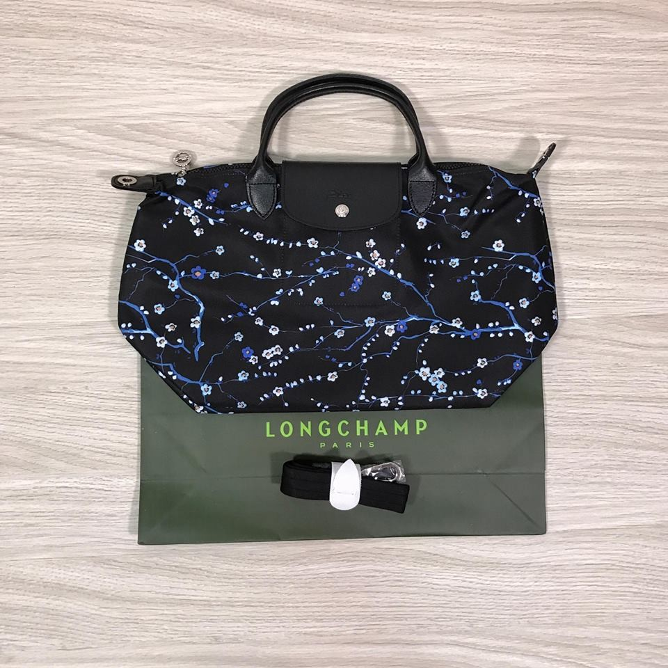 Le Pliage Neo Navy Blue In Medium Size Shopee Philippines Longchamp Miaou Slh Pink