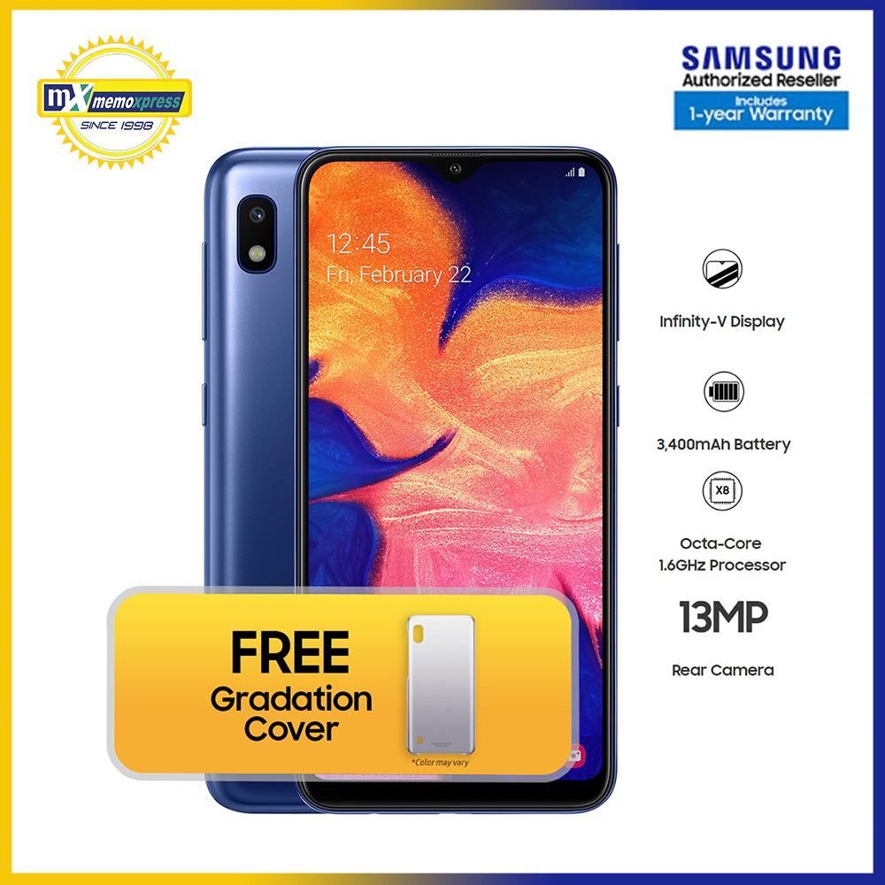 Samsung Galaxy A10 2GB RAM   32GB ROM with FREE Gradation Cover*