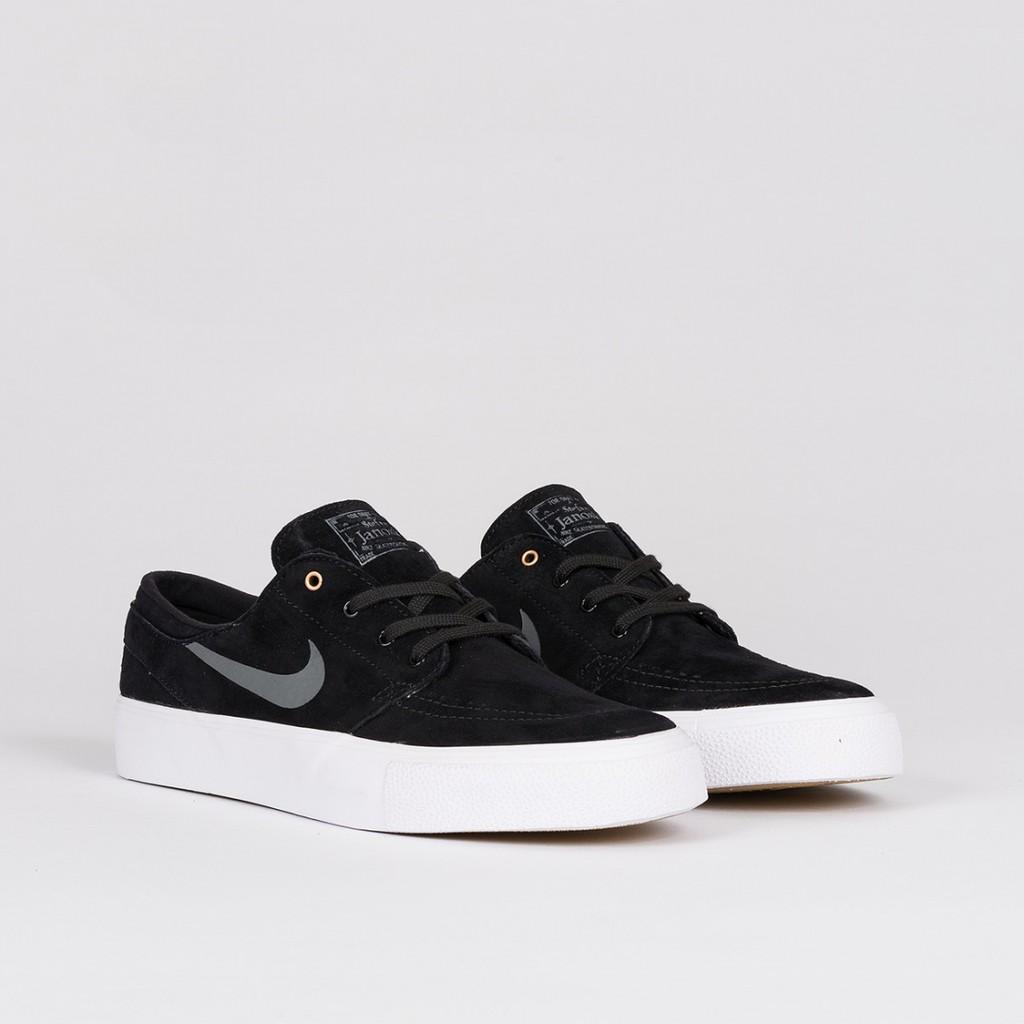Nike SB Zoom Stefan Janoski HT - Black Dark Grey  541c4c75220