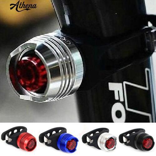 New Flashing Bike Cycling LED Rear Safety Light Warning Tail Lamp Waterproof 1pc