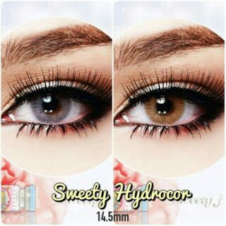 ... Softlens Normal Gratis Lens Case Di Bawah Harga. Source · Graded Sweety Hydrocor Brown and Gray Sweety Plus
