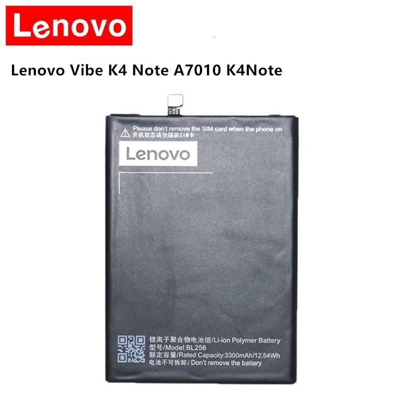 Battery BL256 for Lenovo Lemon K4 Note K4note / Vibe X3 Lite