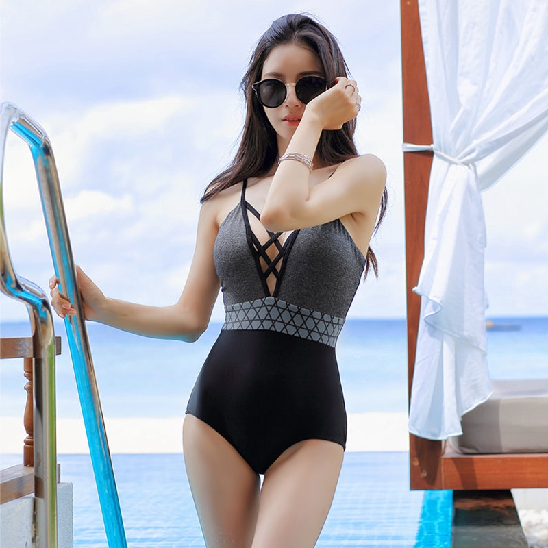Sunshop Womens Swimming Suit Korean Fashion Sexy girl swimwear ...