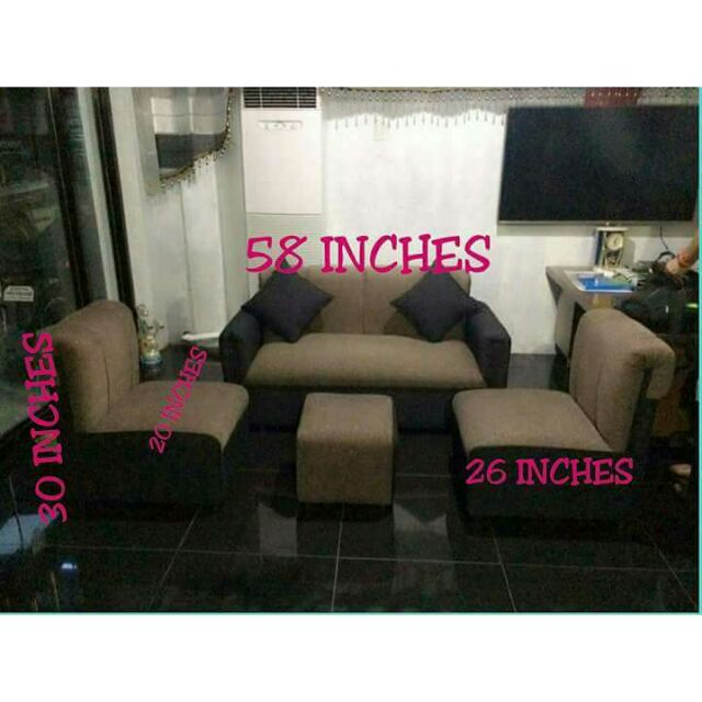 Sofa Set Uratex Foam Shopee Philippines