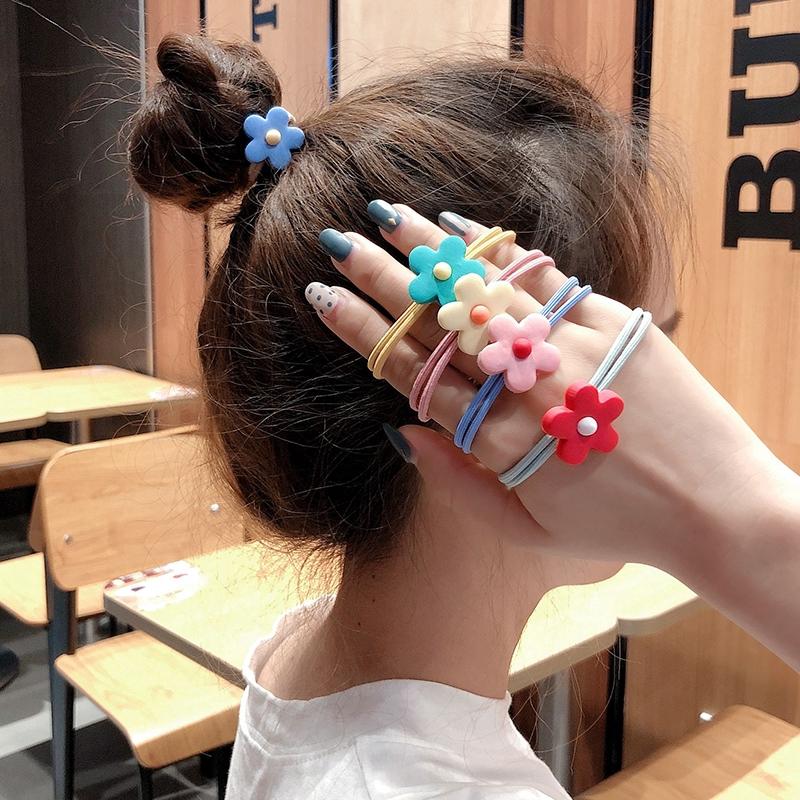 Cute Girls Kids Toddler Childrens Hair Ponies Elastic Bobbles Rope Accessories
