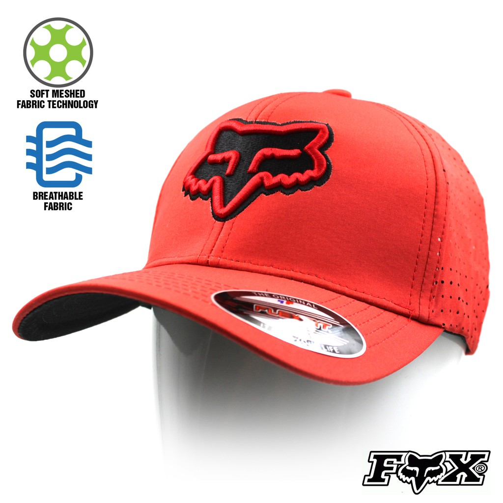 fafc43db5d4 Cap Fox Racing Snapback adjustable Sports Motocross Cap