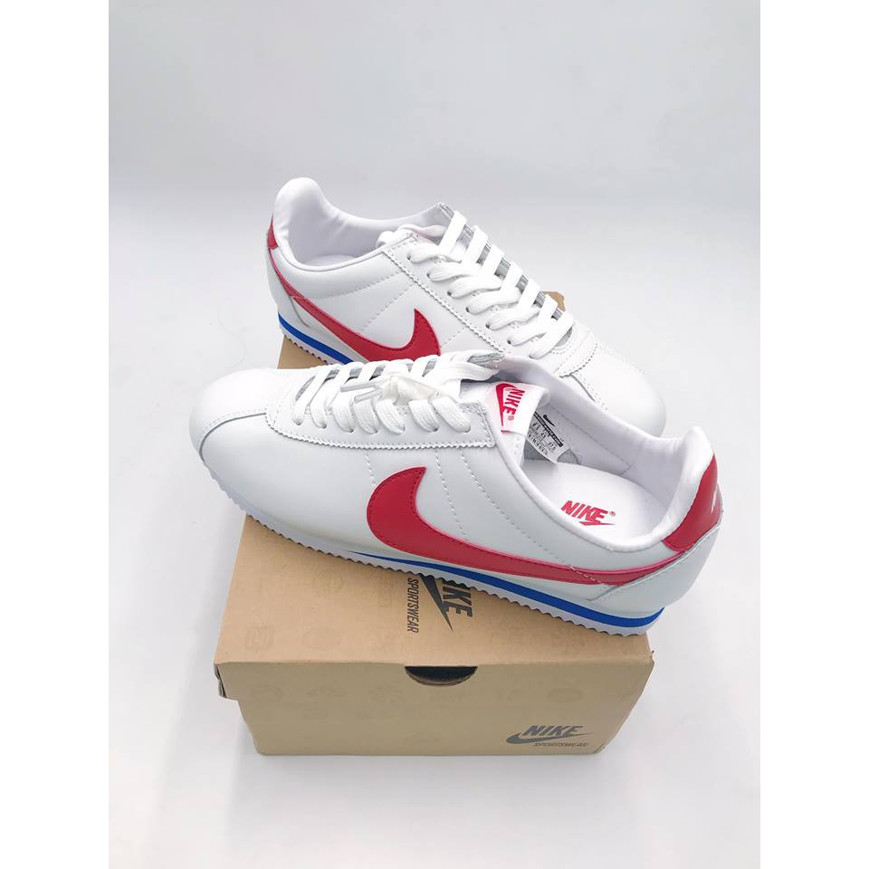 newest 519fa ed46d Nike Classic Cortez Leather sport shes for man and woman with box
