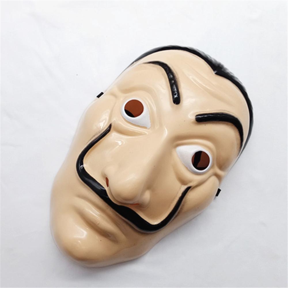 lsf-Face Mask Salvador Dali Mascara Money Heist Cosplay Prop
