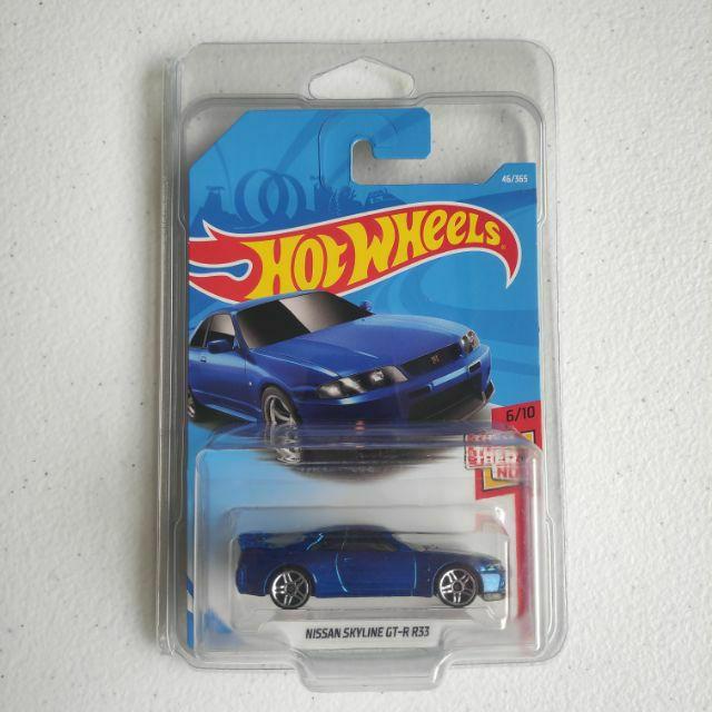 Hot Wheels NISSAN SKYLINE GT-R R33 (International Card)
