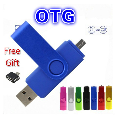 Yonger 2in1 OTG 2.0 USB Flash Drive Transforms Memory for Cell Phones,Tablets and PCs 32G Red