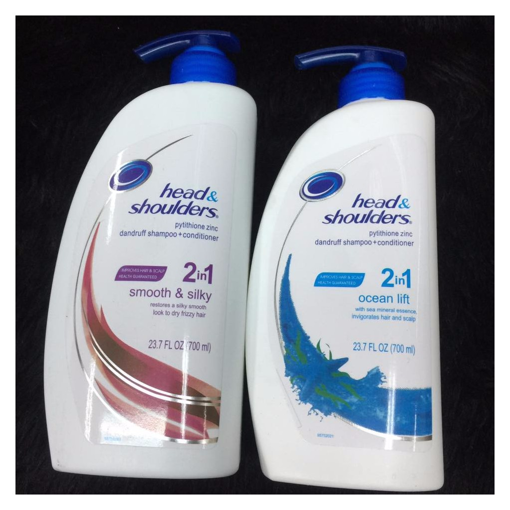 Head Shoulders Cool Menthol Anti Dandruff Shampoo 850ml Shopee N Philippines