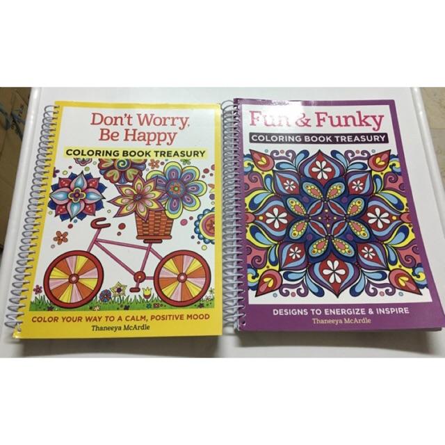 Daria Song Coloring Books