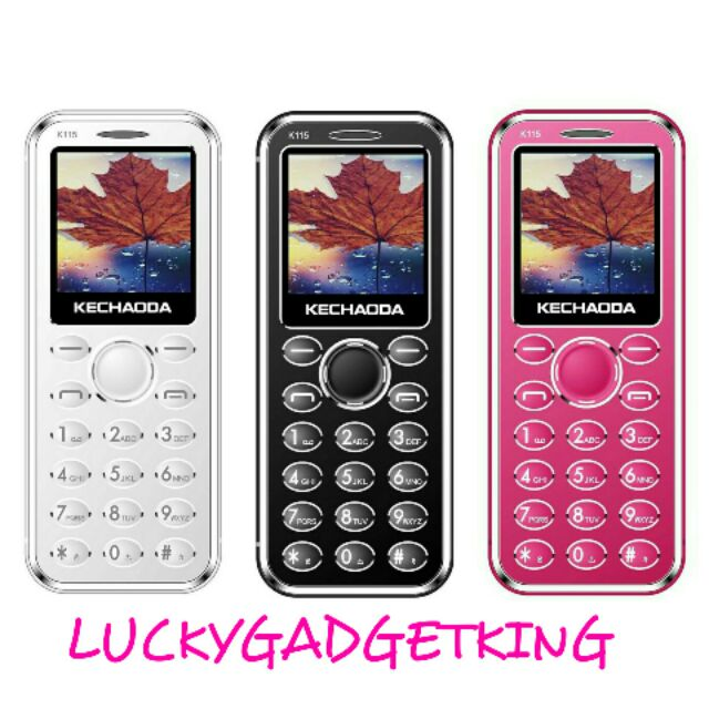 KECHAODA K115 CARD SIZE MINI MOBILE PHONE 1 44 INCH DISPLAY