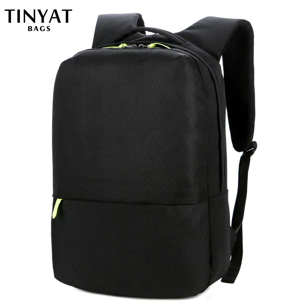 really comfortable various kinds of nice cheap TINYAT Men School Backpack for Teenages 15 inch Mens Laptop Backpack Women  Travel bagpack Students W