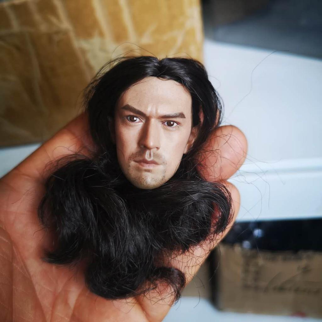 1:6 Takeshi Kaneshiro Onimusha Akechi Samanosuke Head Fit 12/'/' Male Action Figur