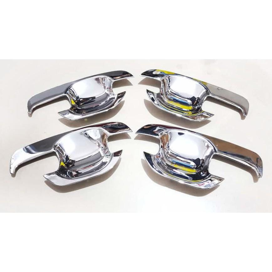 Toyota Hilux Vigo 2012 to 2014 Chrome Door Bowl Cover