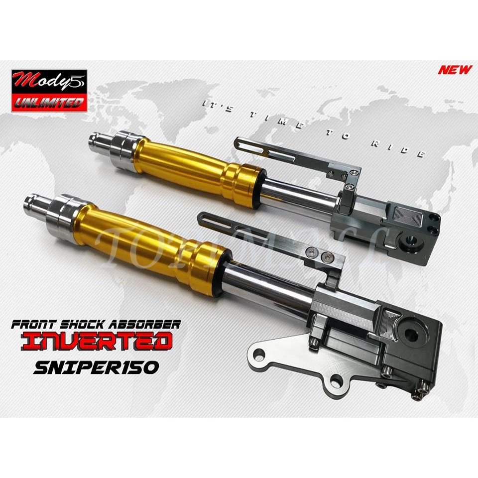 motorcycle inverted front shock YAMAHA SNIPER 150
