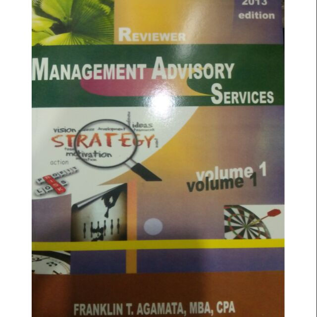 Management advisory services reviewer by agamata dating