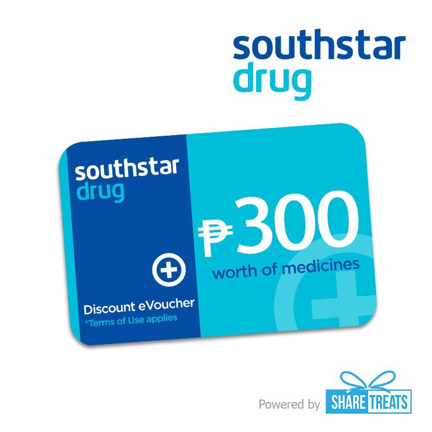 South Star Drug P300 Worth Voucher (SMS eVoucher)