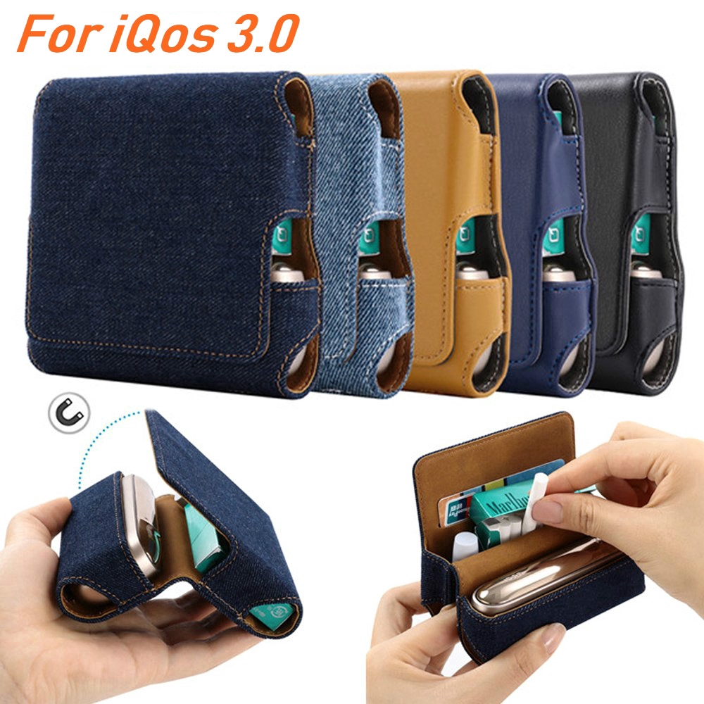 IQOS 3 0 Case Leather Pouch Bag Protective Cover Accessorie