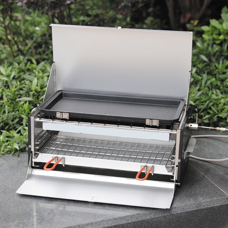 Brothers Brs 16 Large Bbq Grill Outdoor Portable Folding Car Korean Gas Grill Shopee Philippines