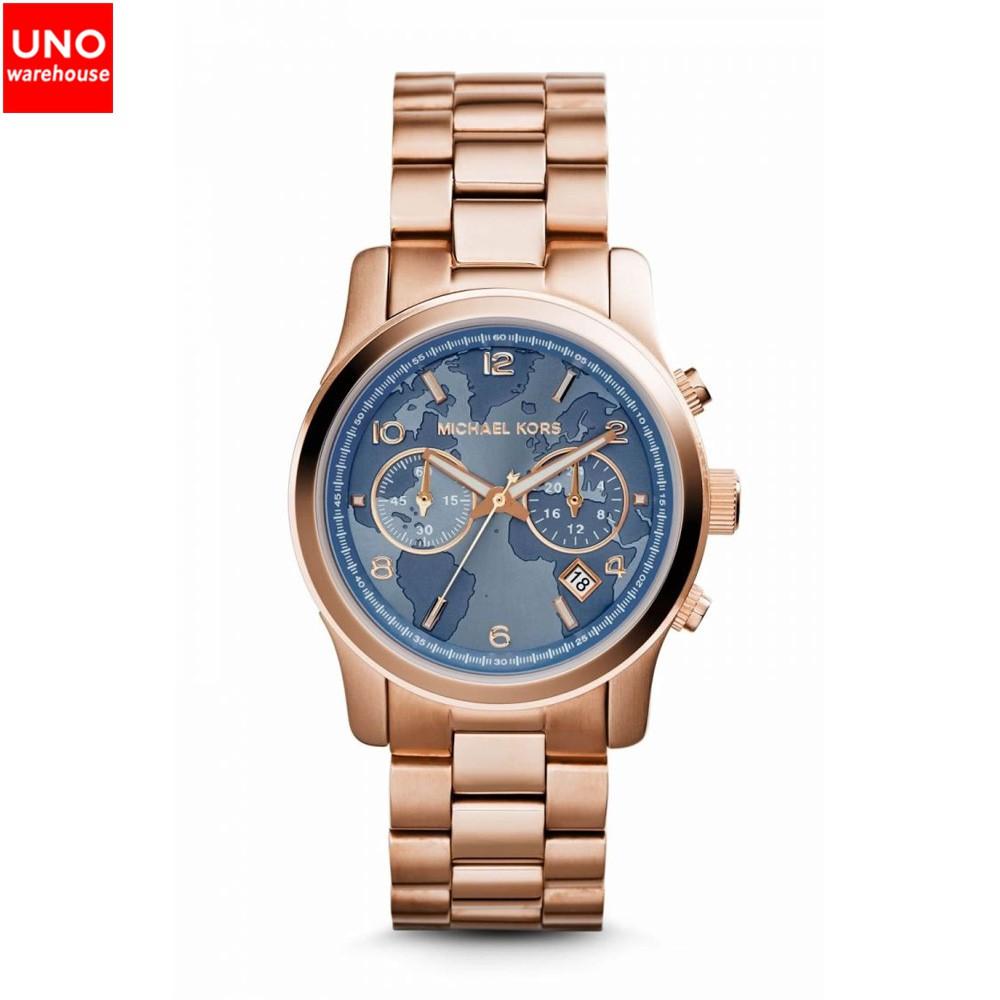 dd40fdc11553 Michael Kors MK5868 Skylar Rose Gold Tone Bracelet Watch