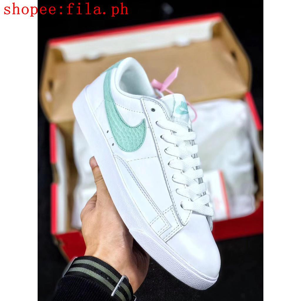 new arrivals new release best supplier original Nike Blazer Low Premium Unisex Small white shoes