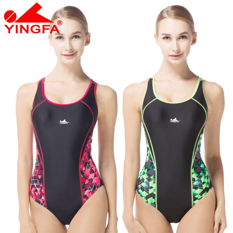 115e8ea6addc8 Yingfa color matching Siamese professional racing children's training  swimsuit 956 | Shopee Philippines