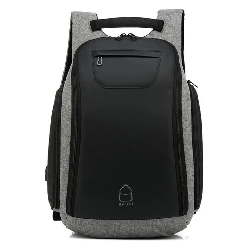 f1156c21efac BAIBU Men Backpack Designer Laptop Backpack School Bags For