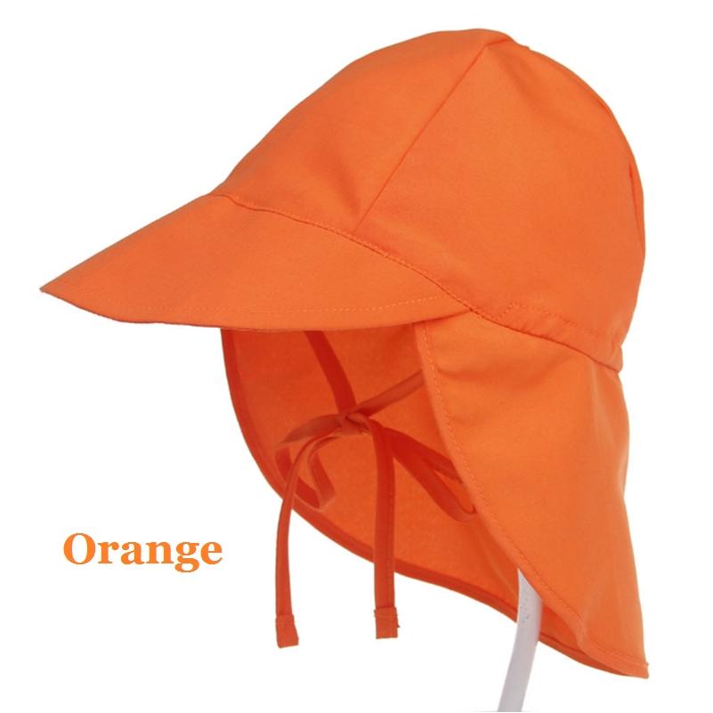 Baby Boys Girl Summer Legionnaire Sun Hat Neck Flap Hat UV Protection Cotton Cap