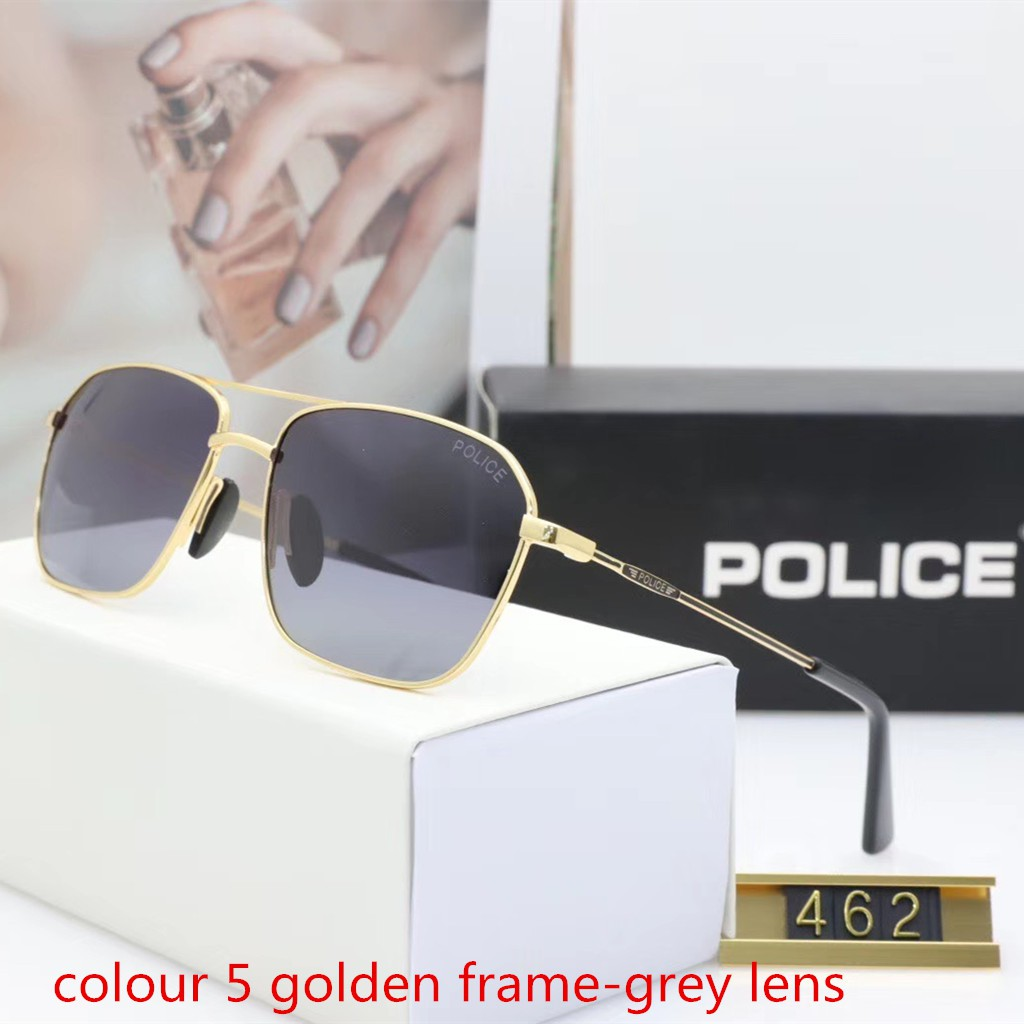 Glasses Fashion UV Protection Sunglasses Trend Polarized Sunglasses Personality Women Men Color : Gold, Size : Free