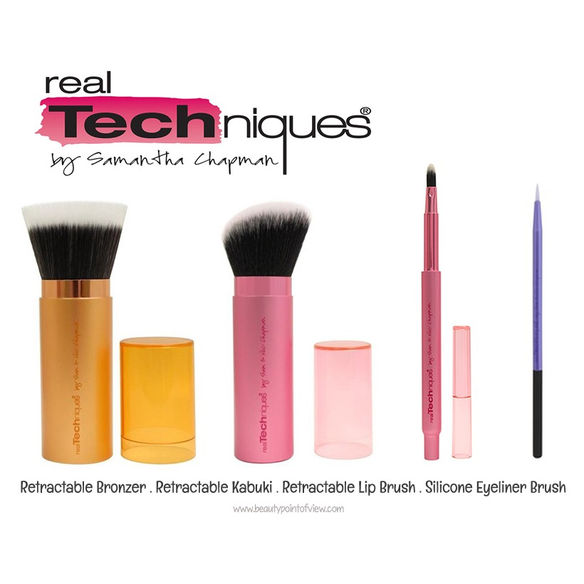 Stay Gorgeous Dual Head Retractable Foundation Brush | Shopee Philippines