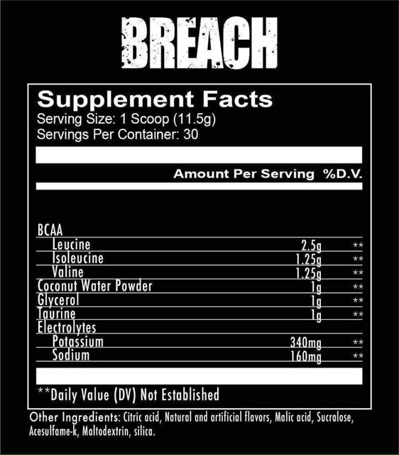 Redcon1 Breach 30 servings | Shopee Philippines