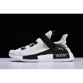 pretty nice fde77 0b2da OFF-WHITE x Pharrell x adidas NMD Hu Race Trail Grey/Black