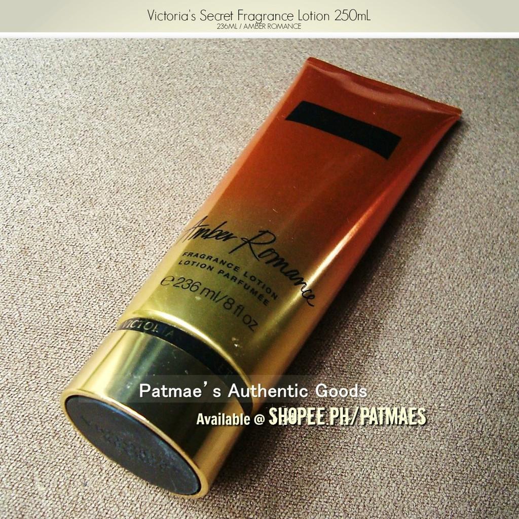 ae19ec02f9e Victoria s Secret Amber Romance Fragrance Lotion 236mL