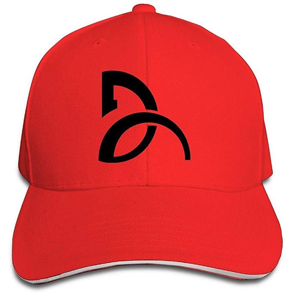 Yhsuk Novak Djokovic Sandwich Peaked Hat//Cap Black