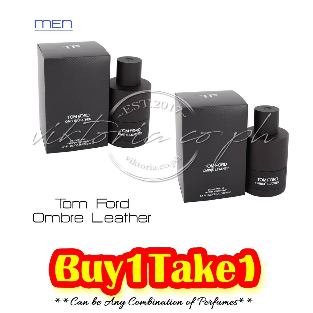 Tom Ford Ombré Leather 100ml Shopee Philippines